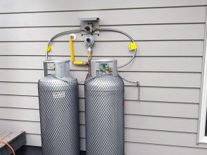 New gas installation